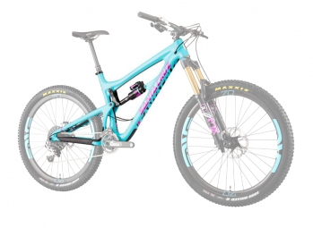 SANTA CRUZ 2015 Frame Kit Nomad 3 Carbon 27.5'' Vivid Air RC2 Shock Aqua Blue Magenta