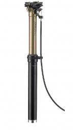 Tige de Selle Télescopique avec durite externe THOMSON DROPPER Remote Débattement 125mm Noir