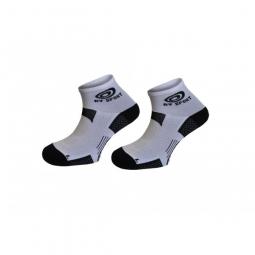 bv sport paire de chaussettes scr one blanc 36 38