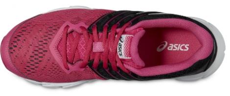 asics chaussures gel evation rose noir femme 37