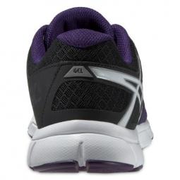 asics chaussures gel evation violet noir femme 37