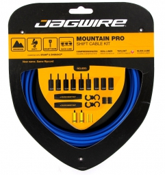 JAGWIRE Kit Dérailleurs MOUNTAIN PRO Bleu SID