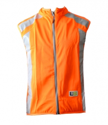 L2S Gilet sans manches VISIOPLUS Orange