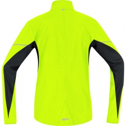 GORE RUNNING WEAR Veste ESSENTIAL WINDSTOPPER Jaune