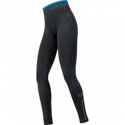 GORE RUNNING WEAR Collant long Femme AIR THERMO Noir Bleu