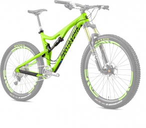 SANTA CRUZ 2014 Frameset BRONSON Carbon 27.5'' Fox CTD 150mm Lime