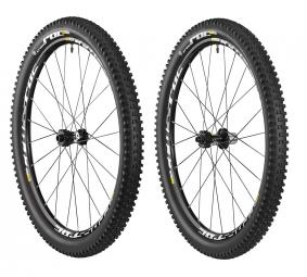 2015 Pair of Mavic WTS XL CROSSROC Wheels 29 '' + Tires CROSSROC QUEST