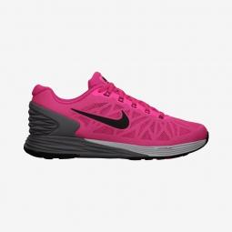 new styles 5c805 fc39b Chaussures de Running Femme Nike LUNARGLIDE 6 Rose   Noir