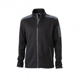 James et NicholsonESPACEVeste tricot polaire HOMME JN591 - noir