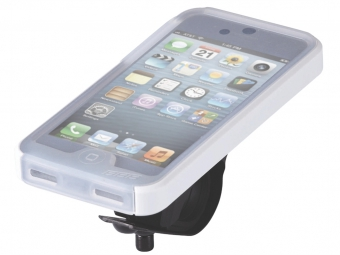 Set IPHONE 5 BBB Supporto + Custodia PATRON Bianco