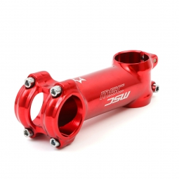MSC Stem Aluminium 31.8mm 7° Red
