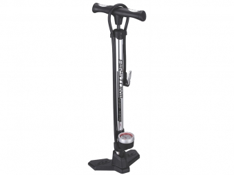 BBB Floor Pump Airstorm Chrome