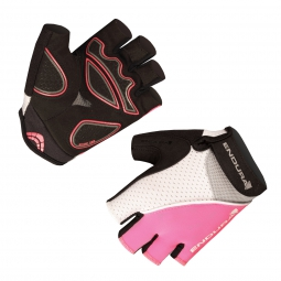 Endura XTRACT Gloves - Blanc / Rose