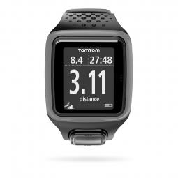 TOMTOM Montre RUNNER HRM GPS Gris Noir