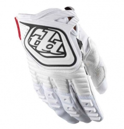 TROY LEE DESIGNS Paire de Gants GP ENFANT Blanc