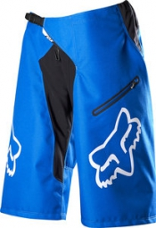 FOX Short DEMO DH Bleu