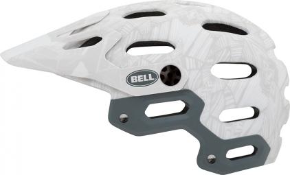 Casque Bell SUPER Blanc Argent
