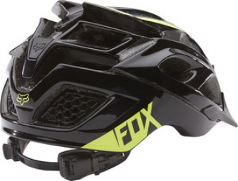Casque Fox STRIKER Noir Acid Green