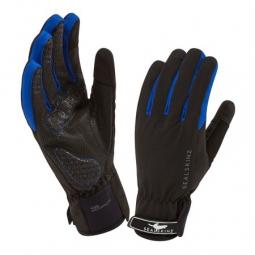 SEALSKINZ Gants ALL WEATHER CYCLE Noir Bleu