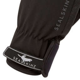 SEALSKINZ Gants ALL WEATHER CYCLE Noir Bleu