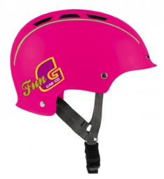 Casque Bol CASCO Enfant FUN-GENERATION Rose