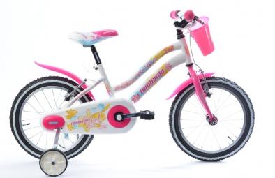 Vélo Enfant Lombardo AKYRA 16'' Blanc / Rose
