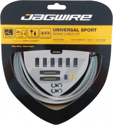 JAGWIRE UNIVERSAL SPORT SHIFT KIT White Braided