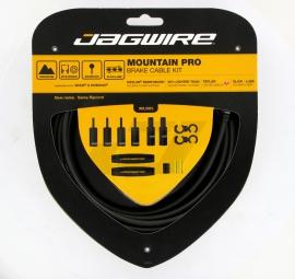JAGWIRE Kit Câbles et gaines de Frein Mountain Pro Ripcord Noir/Carbon