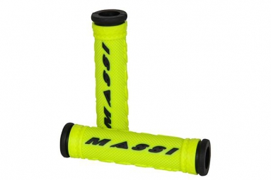 MASSI Pair Grips COMP Yellow Black