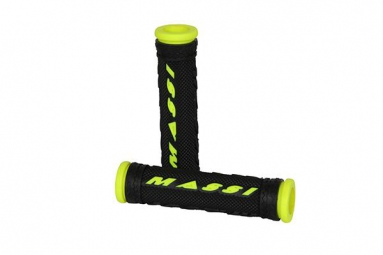 MASSI Pair Grips COMP Black Yellow