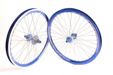 pride paire de roues rival pro bleu