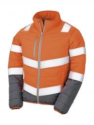 Result Veste matelassée - doudoune sécurité femme R325F - orange fluo