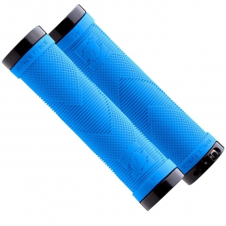 RACE FACE Paire de Grips SNIPER Lock-On Bleu