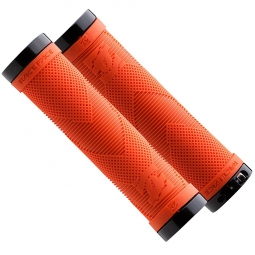 race face paire de grips sniper lock on orange