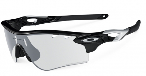 oakley lunettes radarlock path polished black clear black iridium photochromic ref oo9181 36