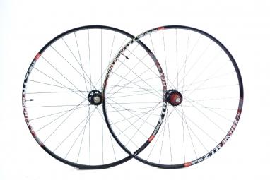 notubes paire de roues arch ex 27 5 av 9 15mm ar 12x142mm noir
