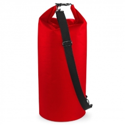 Image of Quadra sac tube etanche 60 litres qx660 rouge non communique