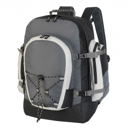 Shugon sac a dos randonnee trekking 40 l 1797 noir et gris fonce non communique