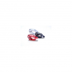 global racing collier de selle serrage rapide speedclamp alu rouge 31 8