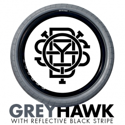 ODYSSEY CHASE HAWK Tire Grey Reflective Black