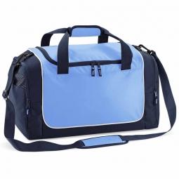 Quadra sac de sport compact qs77 bleu ciel bleu marine blanc