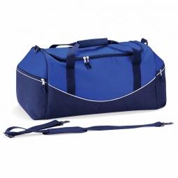 Quadra sac de sport 55l qs70 bleu roi bleu marine blanc