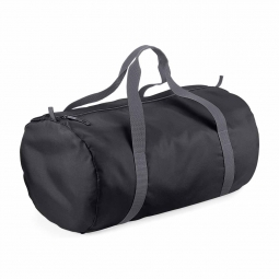 Bag base sac de voyage toile ultra leger pliant bg150 noir grey packaway barrel bag