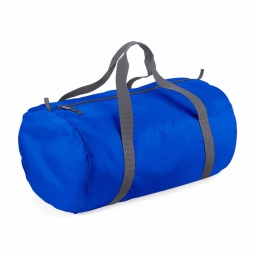 Bag base sac de voyage toile ultra leger pliant bg150 bleu roi packaway barrel bag