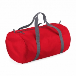 Bag base sac de voyage toile ultra leger pliant bg150 rouge packaway barrel bag