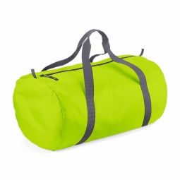 Bag base sac de voyage toile ultra leger pliant bg150 vert citron packaway barrel bag