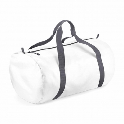 Bag base sac de voyage toile ultra leger pliant bg150 blanc packaway barrel bag