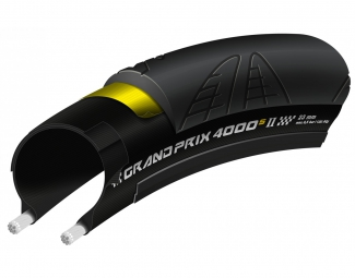 Pneu continental grand prix 4000s ii 700 mm souple 23 mm