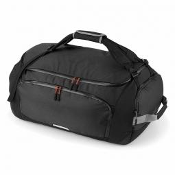 Quadra sac de voyage sac de sport transformable sac a dos qx560 noir 60 litres