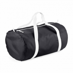 Bag base sac de voyage toile ultra leger pliant bg150 noir white packaway barrel bag